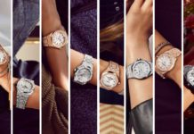 Innovations at Audemars Piguet in reaching out to the female market include the Frosted Gold collection