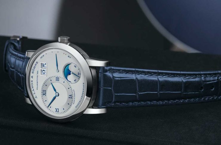 "Lange 1 Moon Phase ""25th Anniversary"" (Image © Revolution)"