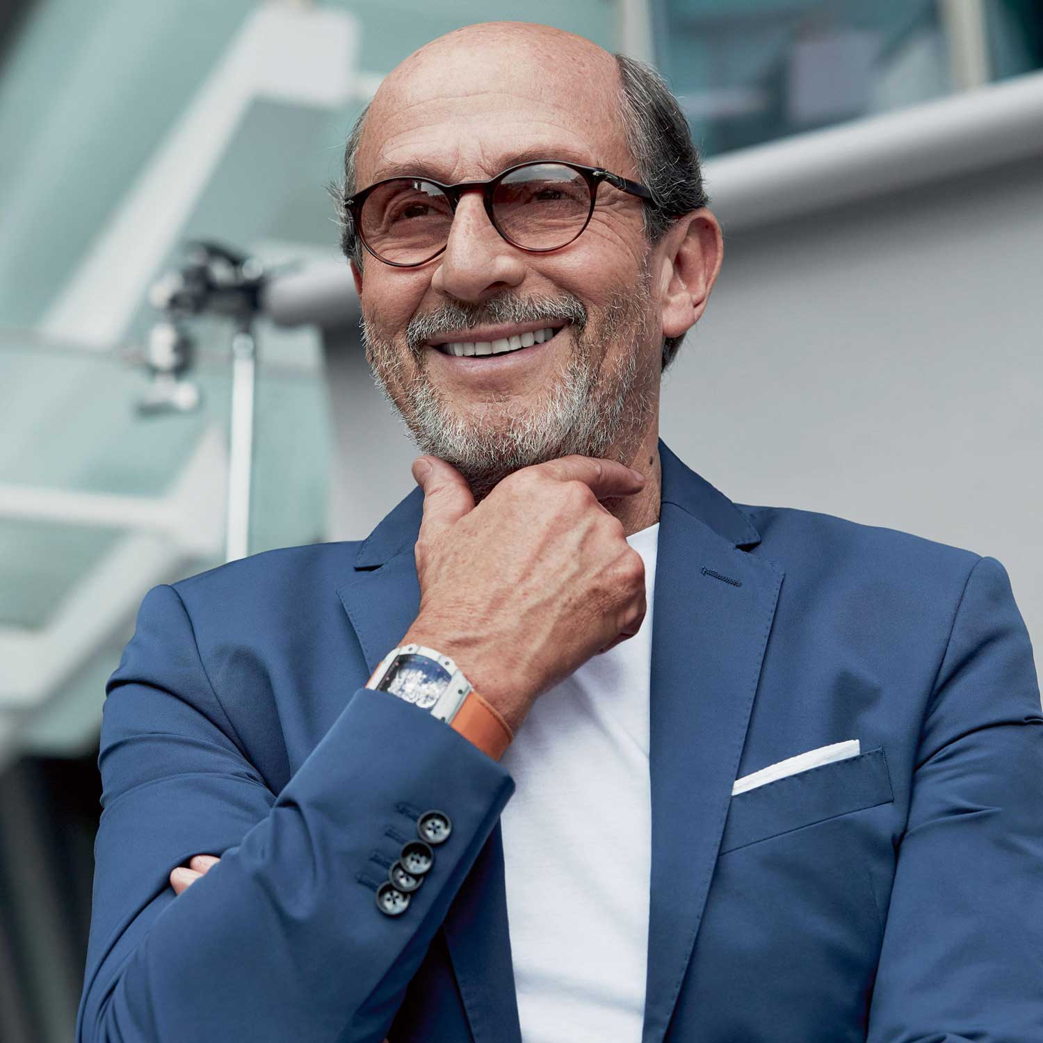 Richard Mille, juggernaut and founder of Richard Mille