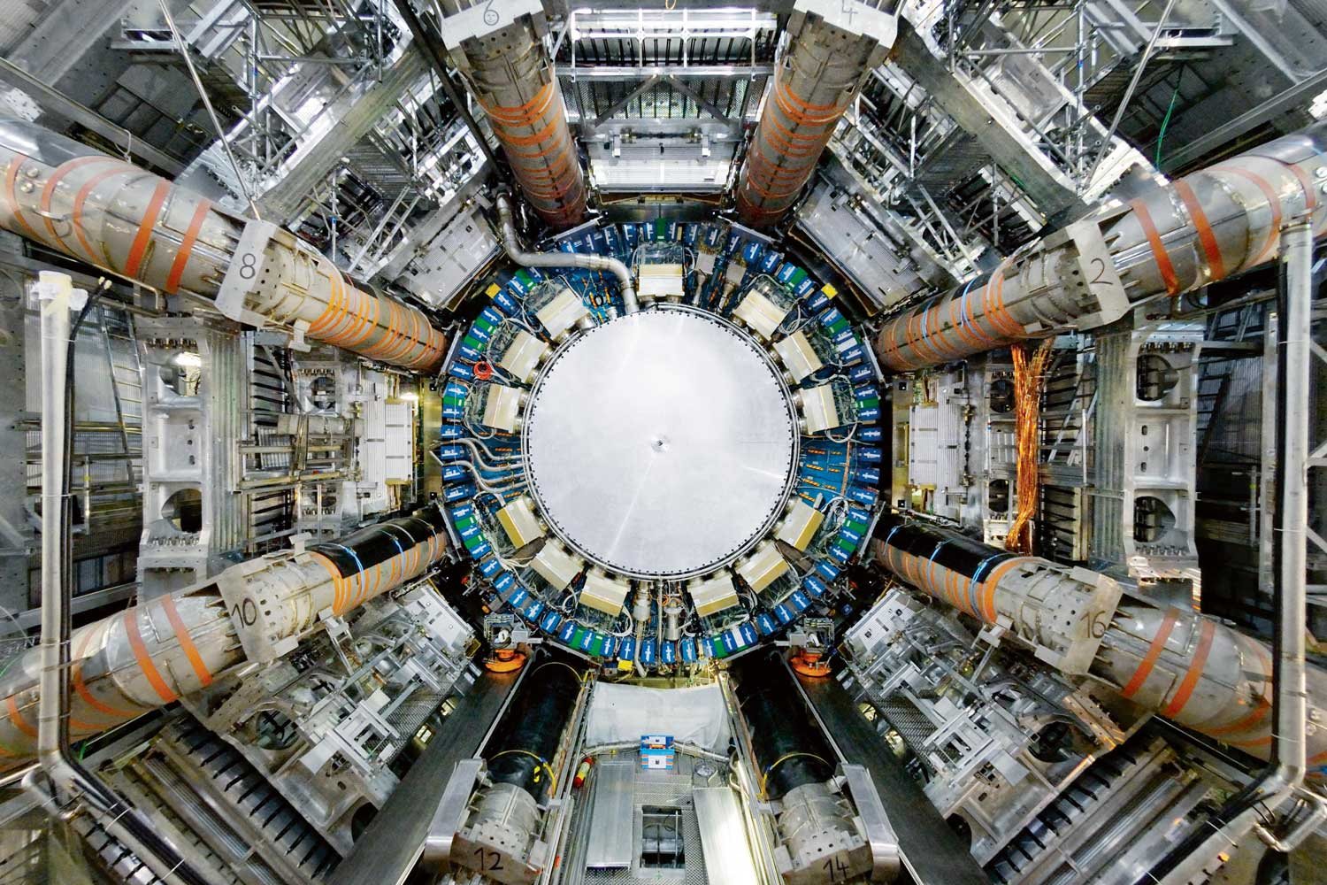 ATLAS particle detector at the Large Hadron Collider, CERN