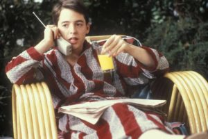 Ferris Bueller gives himself a day off