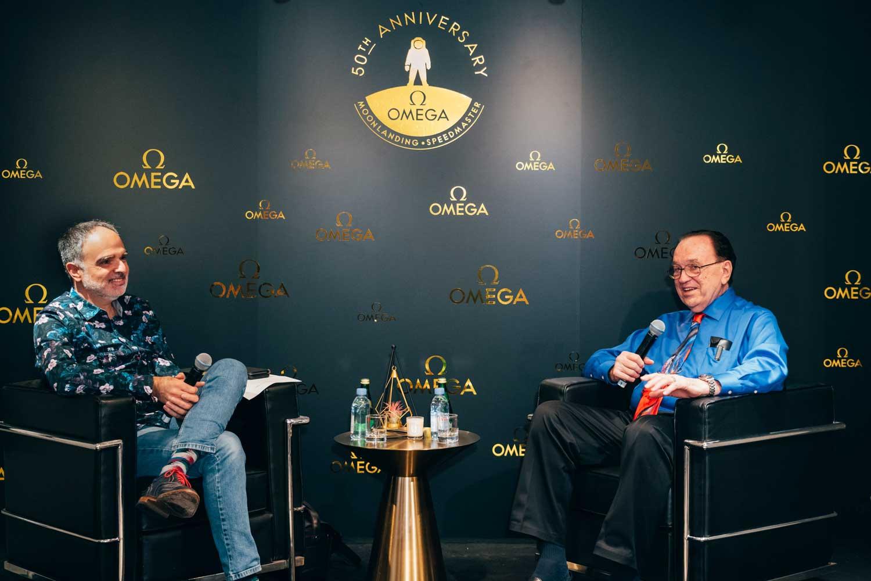 Petros Protopapas and James Ragan chat about the latter's NASA experiences during a recent visit to Hong Kong