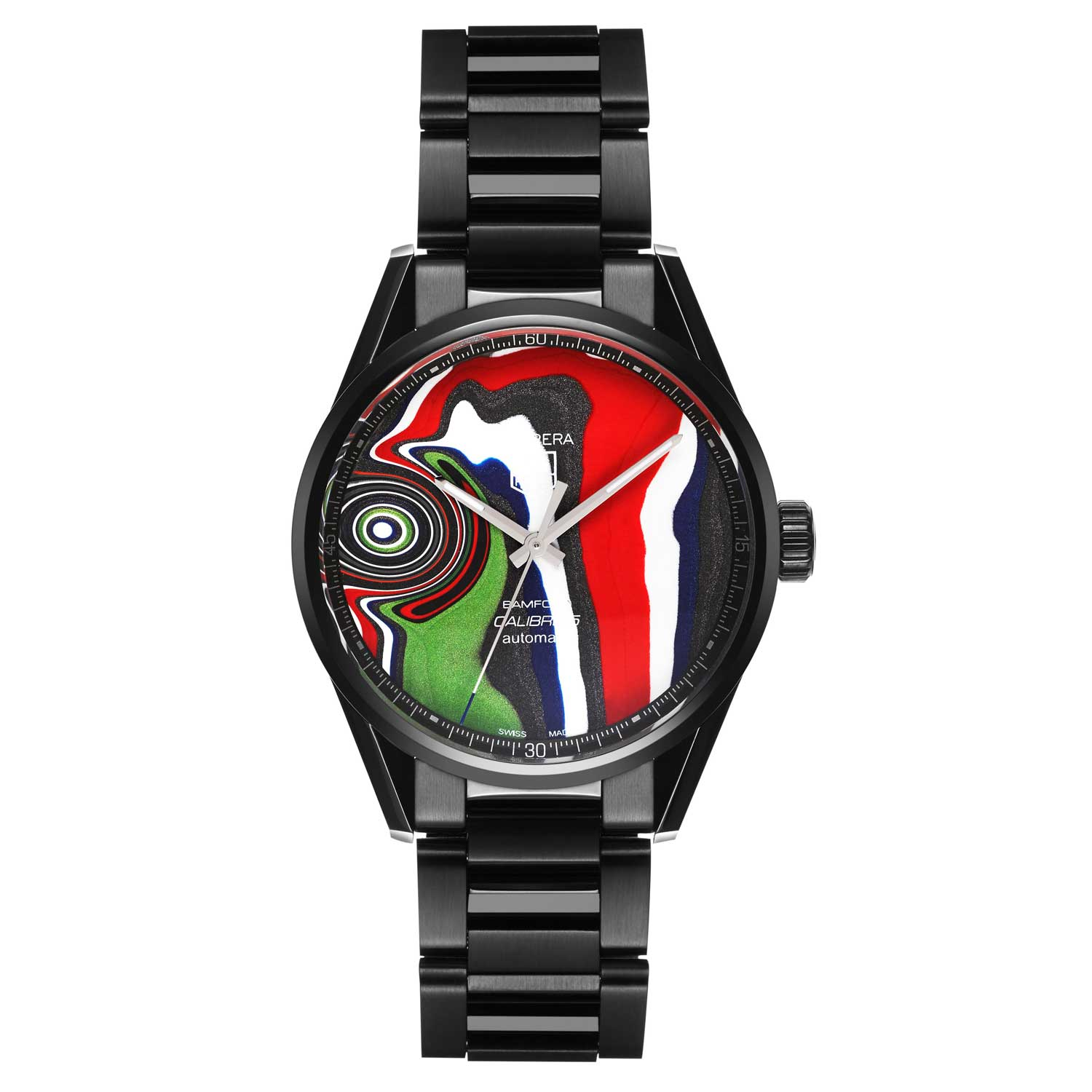 Bamford Watch Department x Tag Heuer Calibre 5