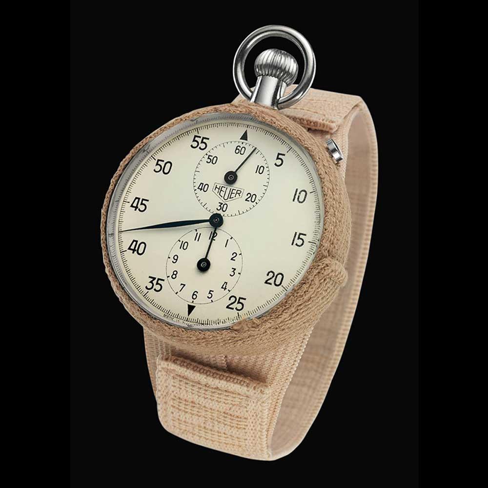 Heuer ref. 2915A stopwatch worn by John Glenn to space