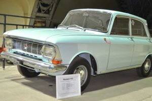 "Moskvich 412 (1967-1975). Small family car for ""the people""."