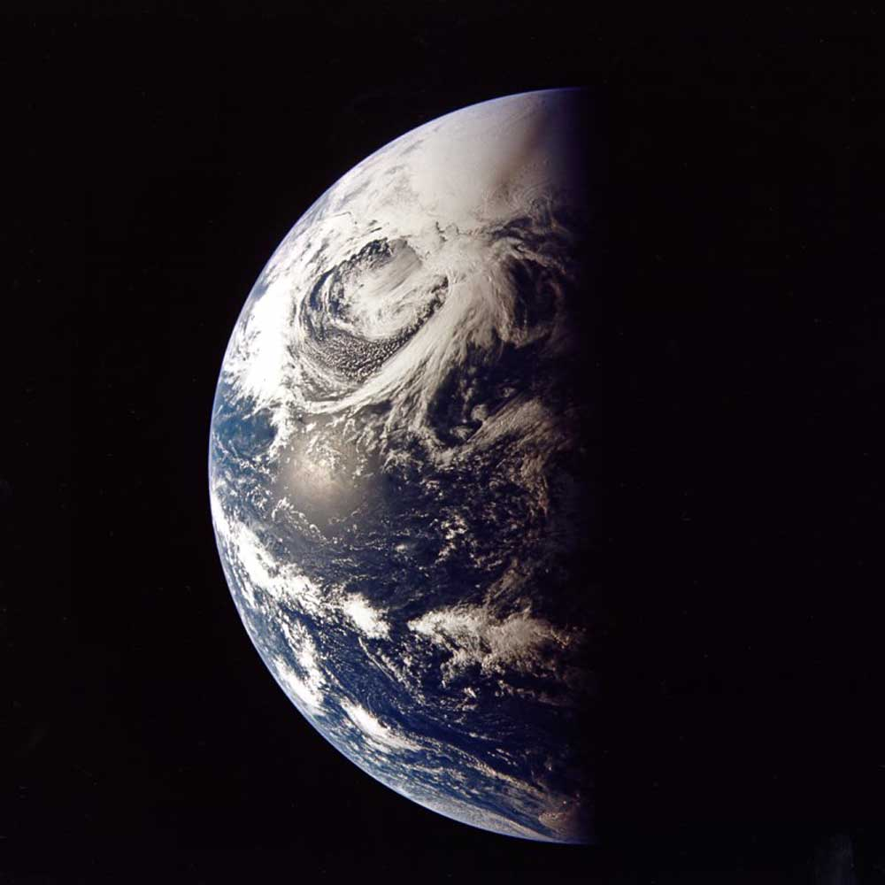 View of Earth from Apollo 13 (Image: NASA)