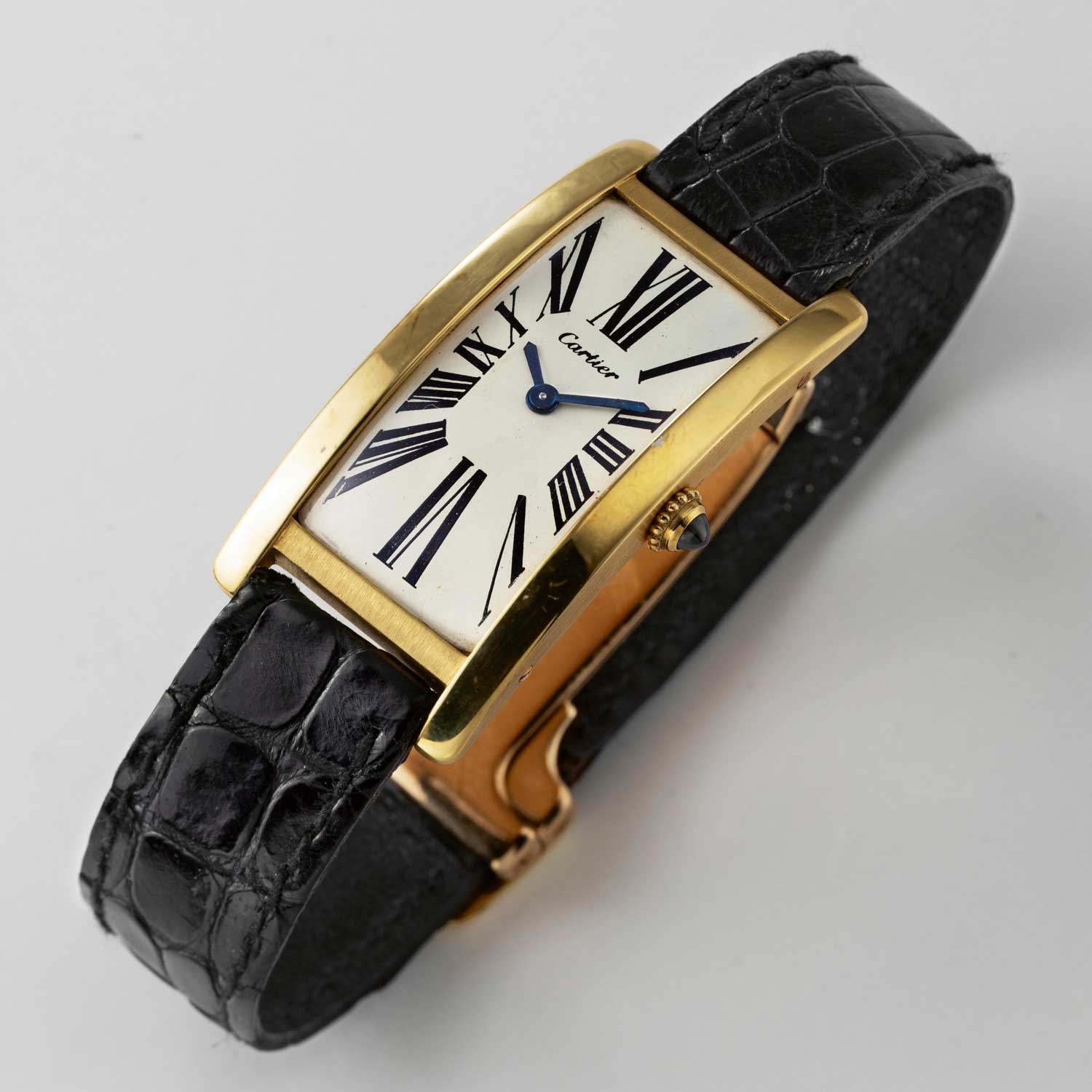 Cartier Tank Cintrée made in London ... (Image © Revolution)