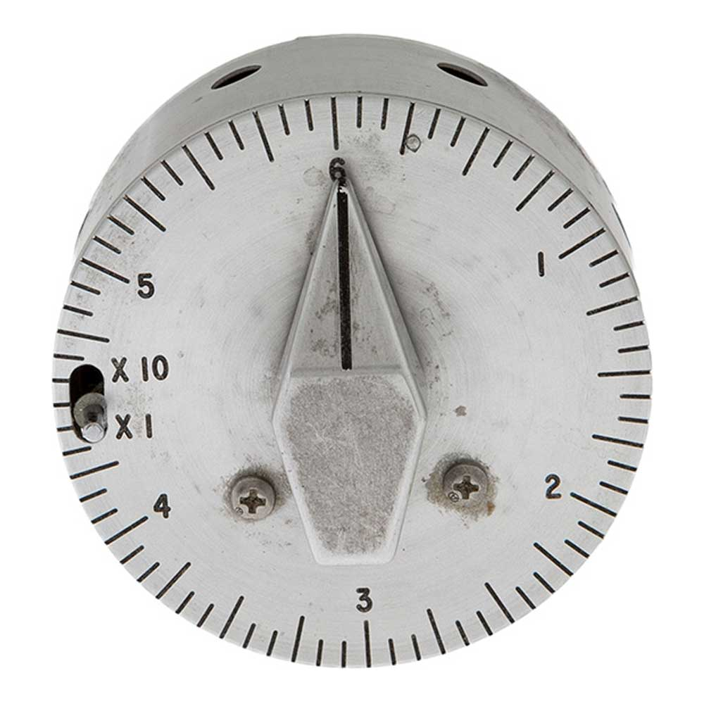 Command Module Interval Timer from Apollo 12, in stainless steel