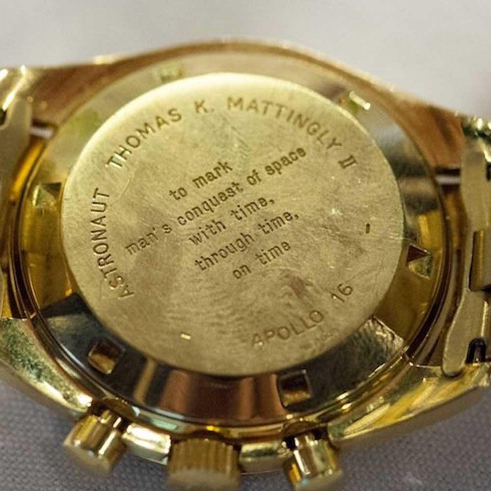 Thomas 'Ken' Mattingly of Apollo 16's BA 145.022 (Image: Fratello)