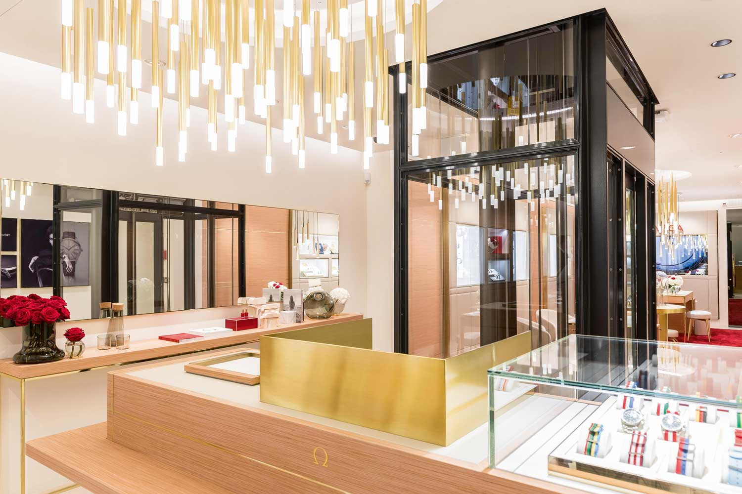 The Omega flagship store in Bern