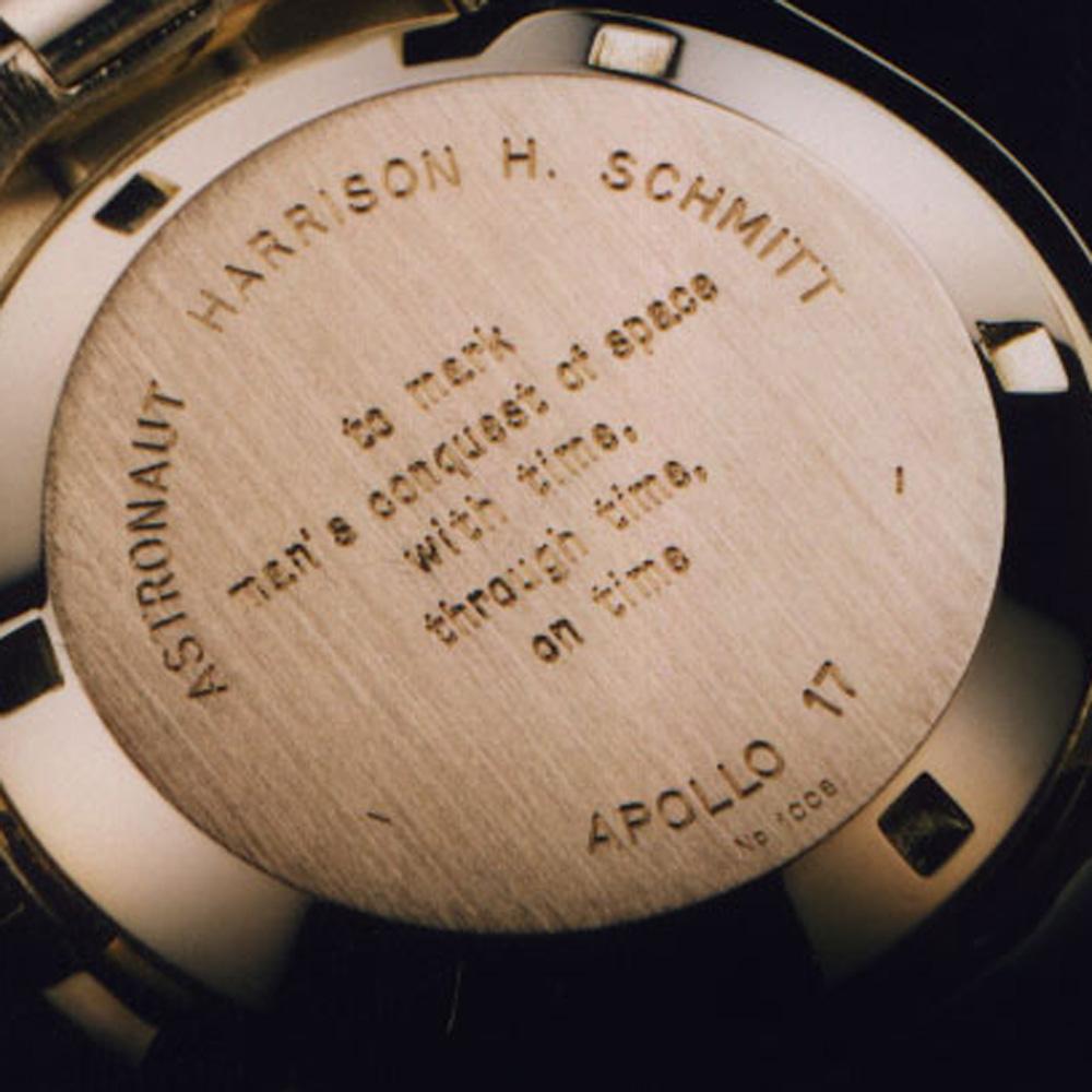 Harrison Schmitt of Apollo 17's BA 145.022 (Image: Watchcarefully)