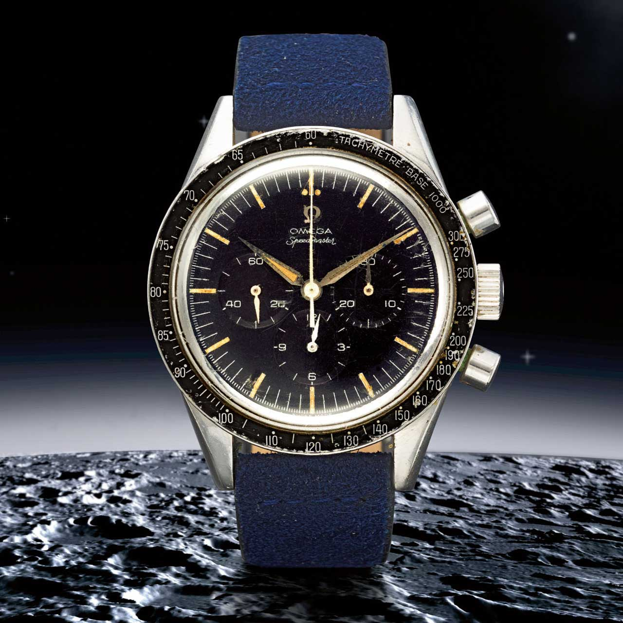 Lot 4: Speedmaster ref. 2915-3, in stainless steel, made in 1959