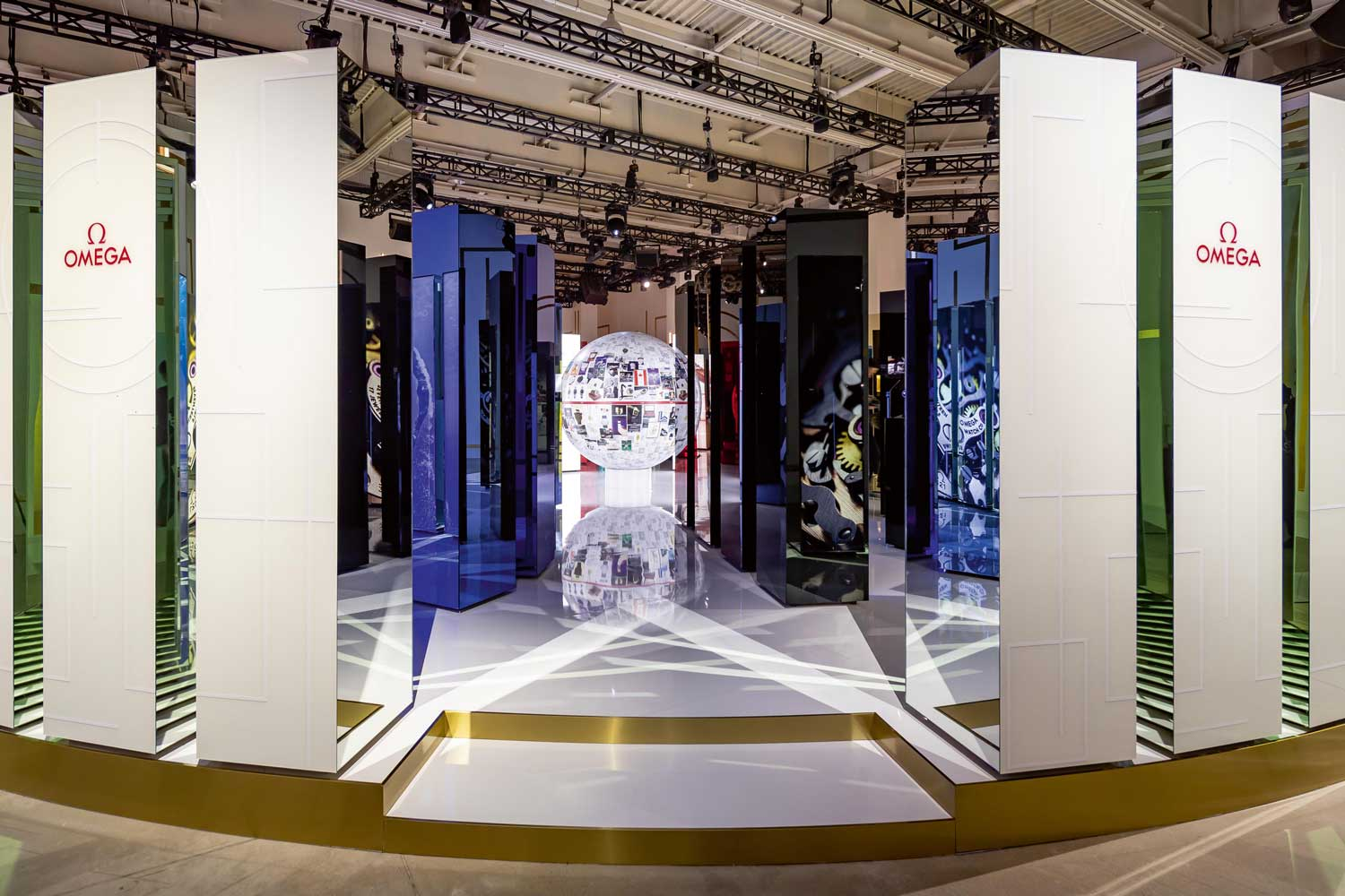 Omega's recent Planet Omega exhibition in Shanghai embraces the future