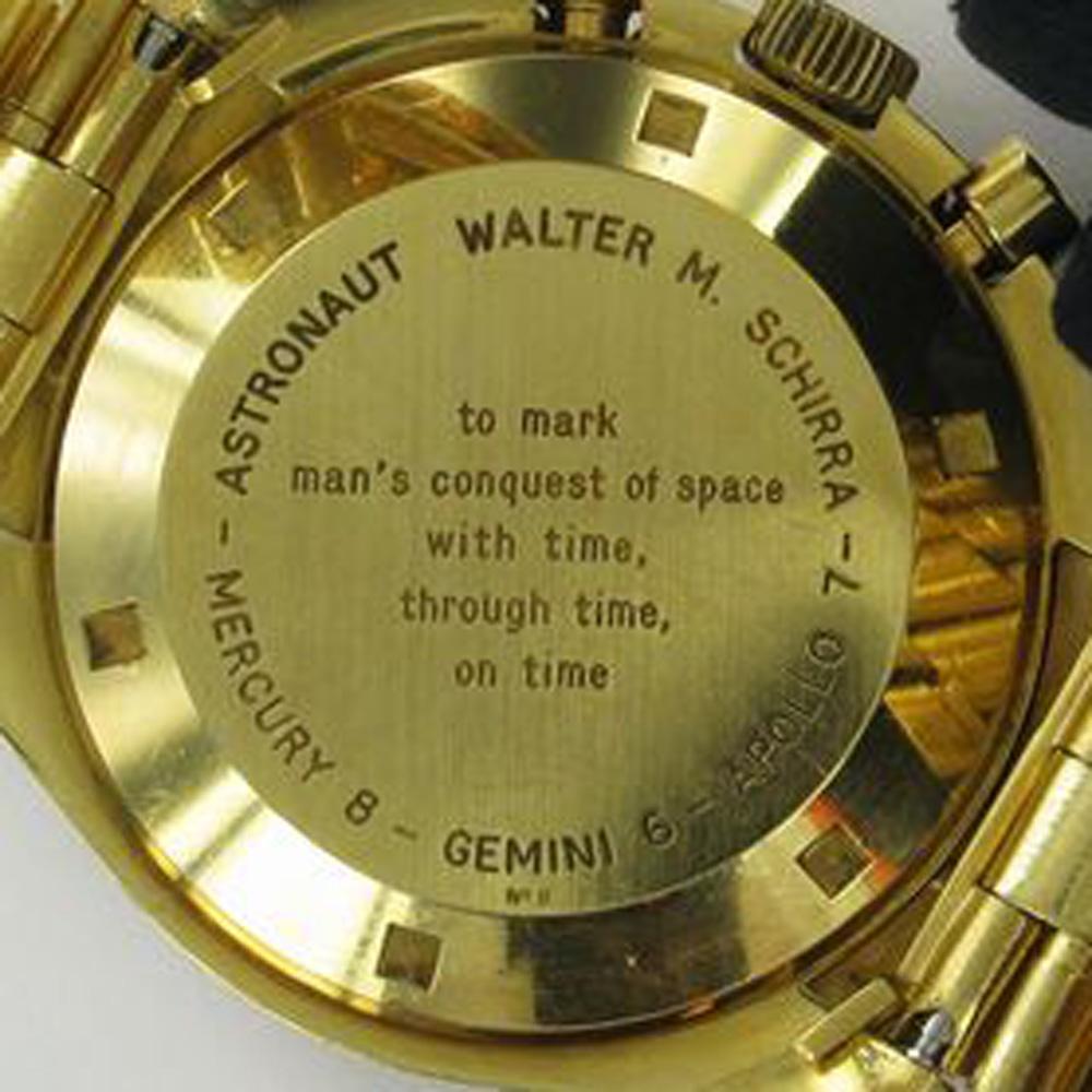 Wally Schirra of Apollo 7's BA 145.022 (Image: Fratello)