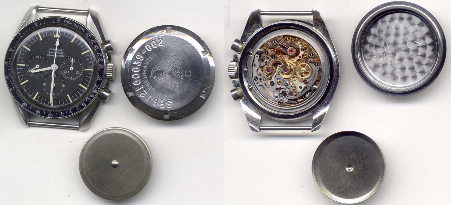 Irwin's reference 105.012 Speedmaster as can be seen from the inside of the caseback