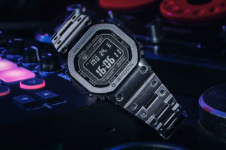 G-Shock X Revolution GMW-B5000V Black Aged IP (Image © Revolution)