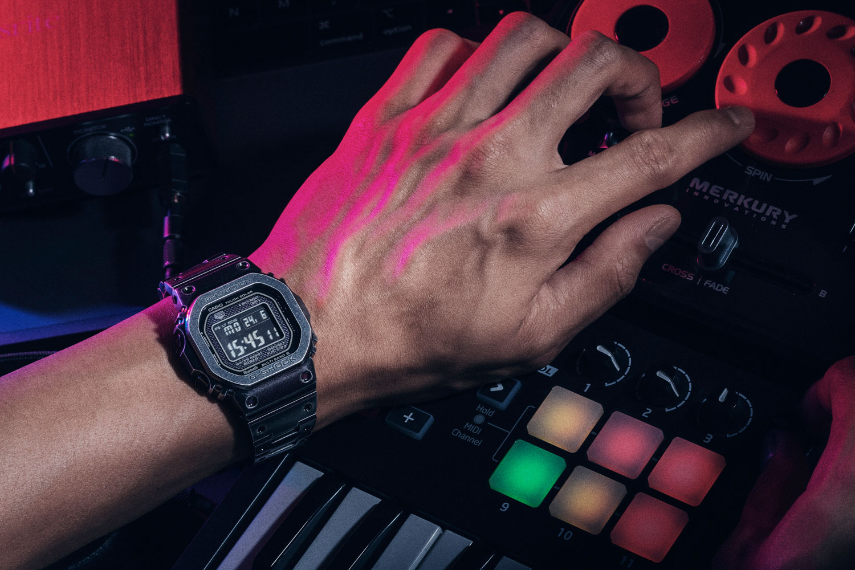 G-Shock X Revolution GMW-B5000V Black Aged IP (Image © Revolution)