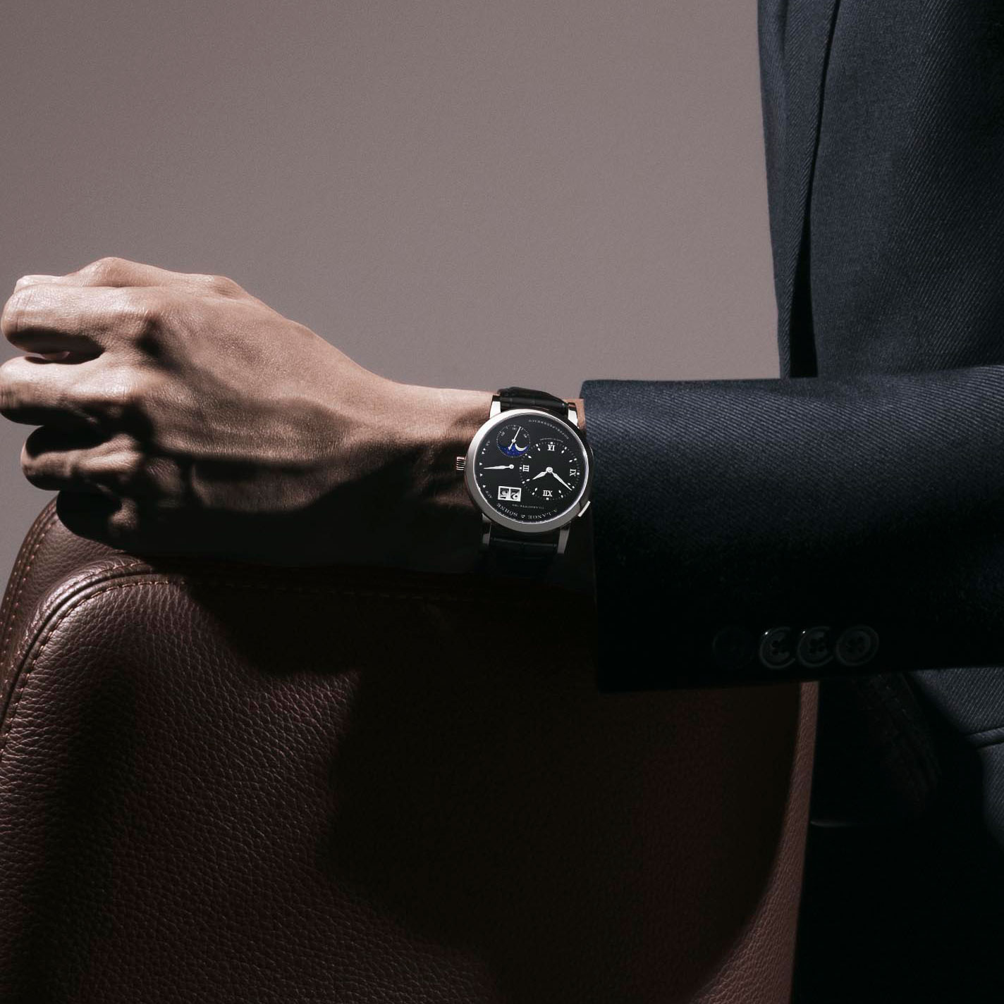 Lange 1 Moon Phase (Image © Revolution)