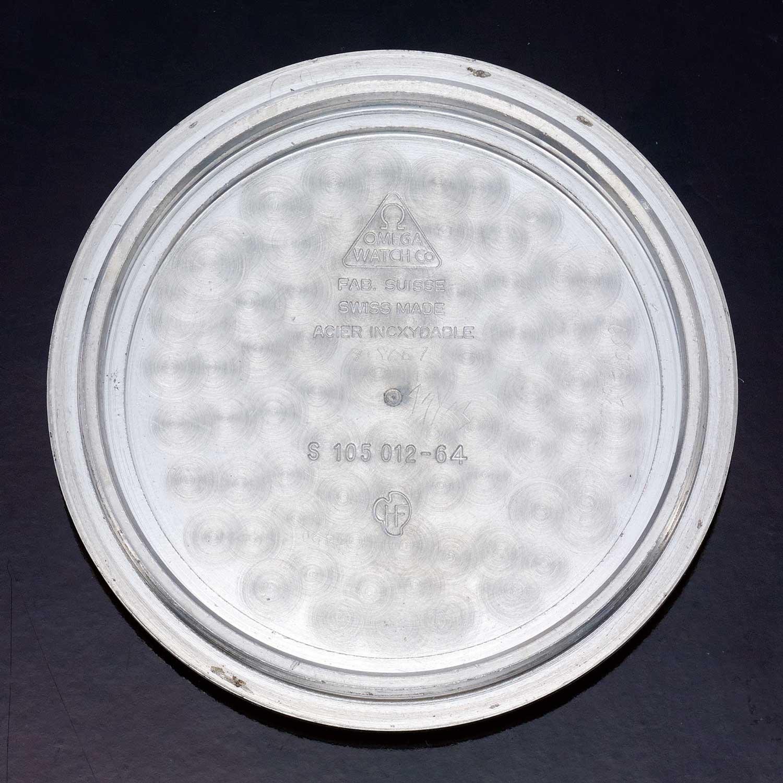 Lot 36: Speedmaster ref. 105.012-64 'tritium', in stainless steel, made in 1965