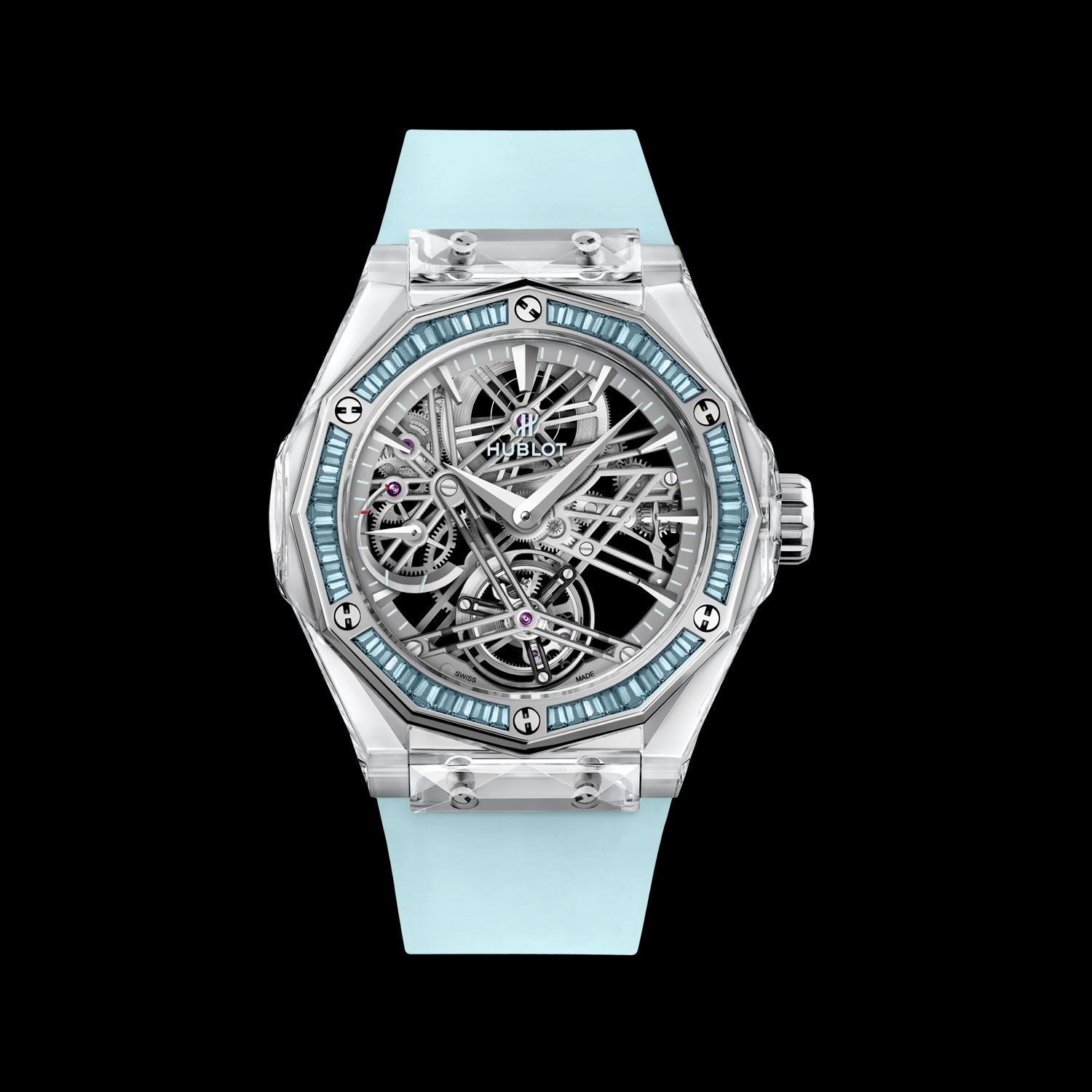 Hublot Classic Fusion Tourbillon Sapphire Orlinski For Only Watch