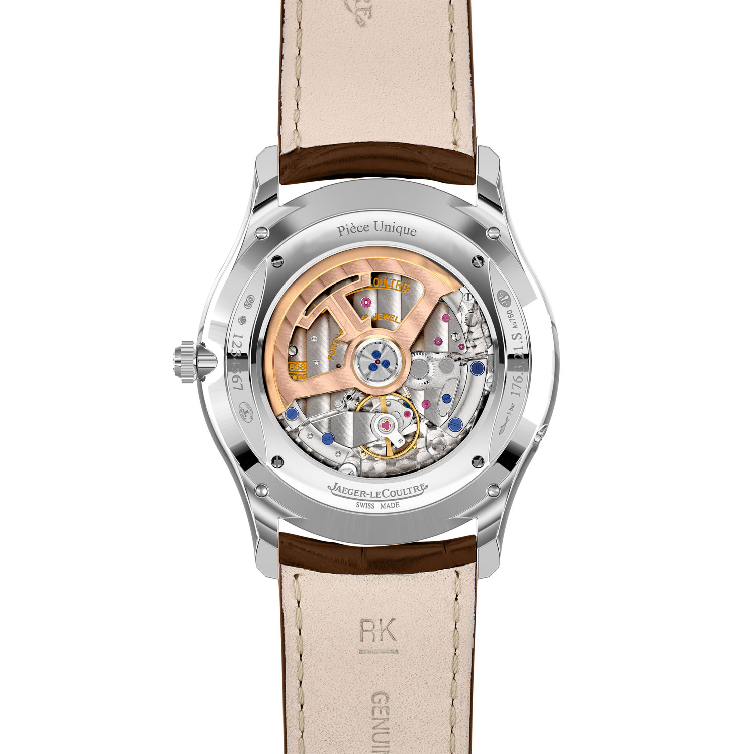 Jaeger-LeCoultre Master Ultra-Thin Perpetual Enamel Chestnut