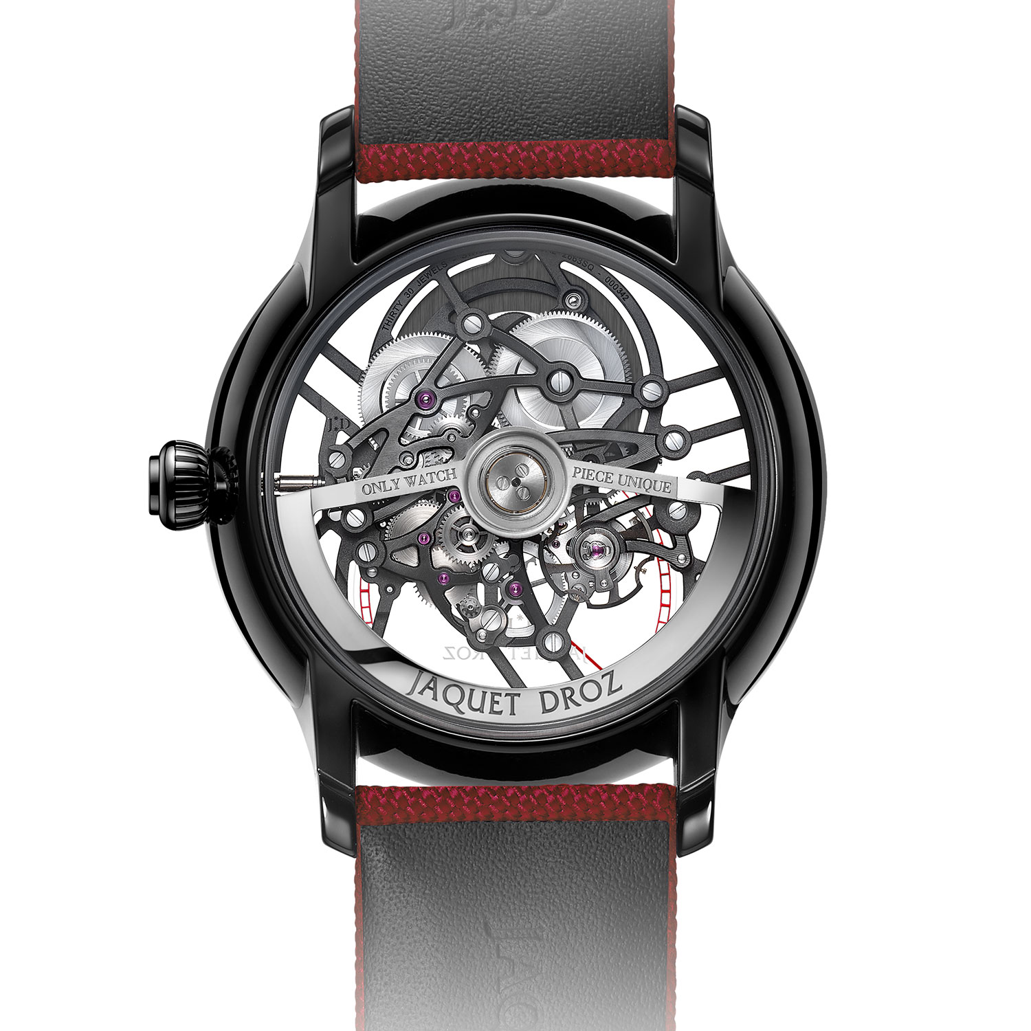 Jaquet Droz Grande Seconde Skelet-One Ceramic for Only Watch