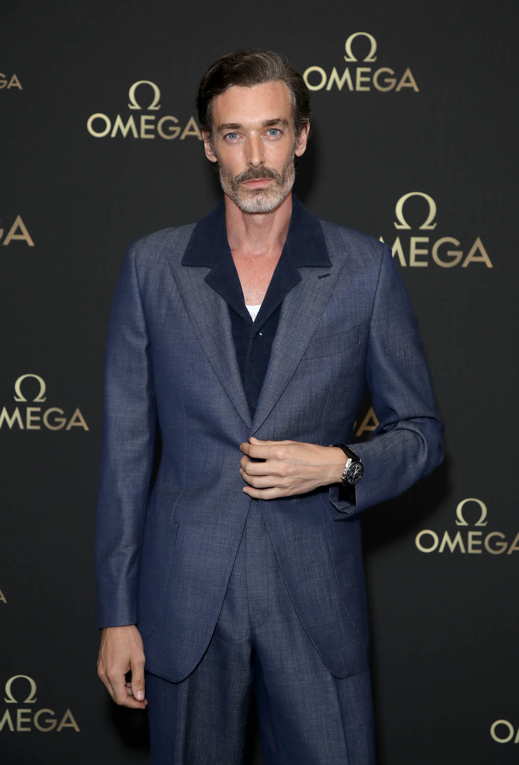 LONDON, ENGLAND - JULY 11: Richard Biedul attends the OMEGA 50th anniversary Moon Landing dinner at Television Centre on July 11, 2019 in London, England. (Photo by Mike Marsland/Getty Images for OMEGA)