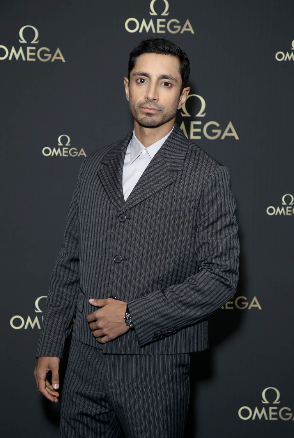 LONDON, ENGLAND - JULY 11: Riz Ahmed attends the OMEGA 50th anniversary Moon Landing dinner at Television Centre on July 11, 2019 in London, England. (Photo by Mike Marsland/Getty Images for OMEGA)