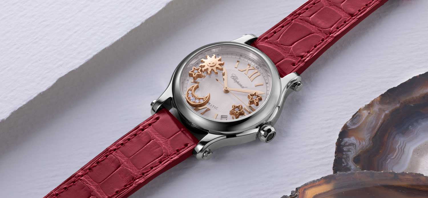 Chopard Happy Sport The Hour Glass 40th Anniversary Special Edition (Image © Revolution)