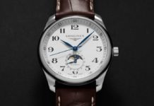 Longines Master Moon Phase in Stainless Steel (Image © Revolution)