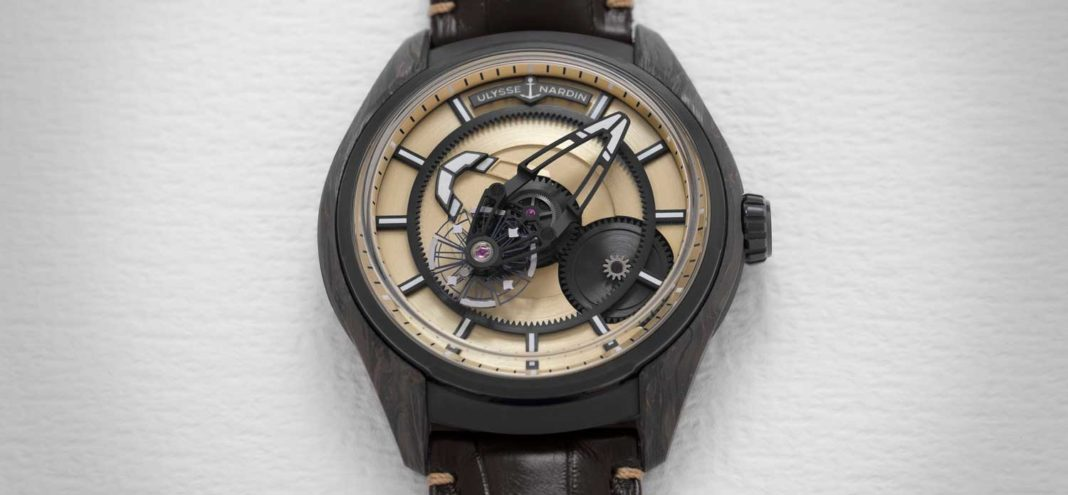 Ulysse Nardin The Freak X Carbonium Gold (Image © Revolution)