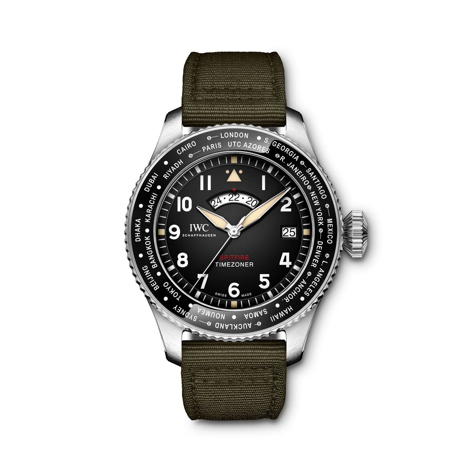 "The IWC Pilot's Watch Timezoner Spitfire Edition ""The Longest Flight"""