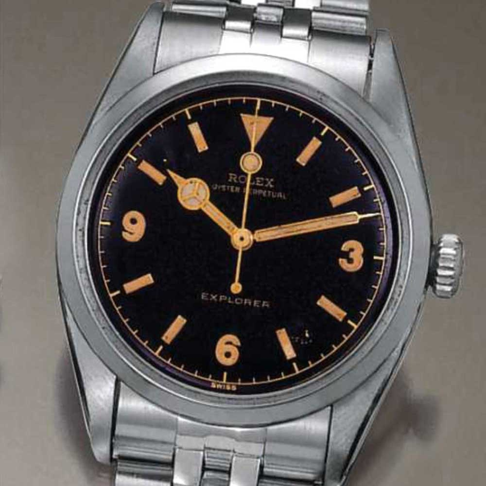 Rolex Ref. 6150 with Mercedes hour hand