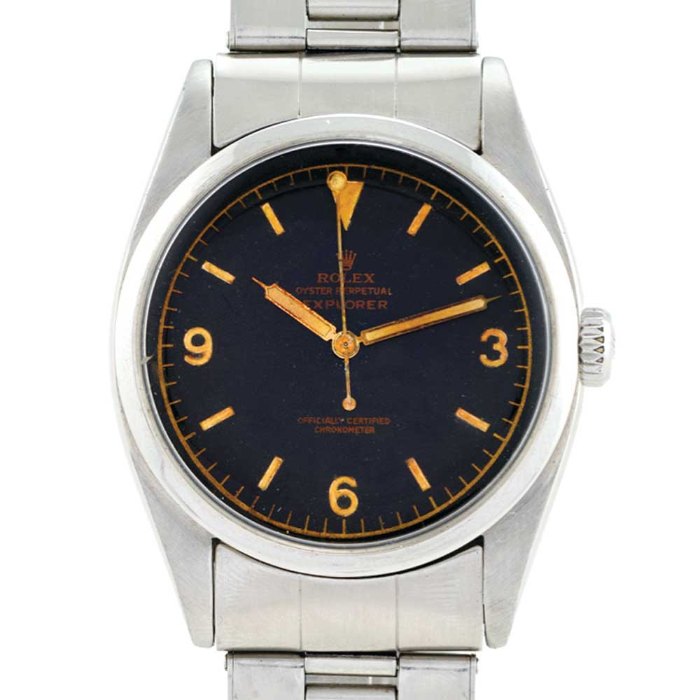 Rolex Ref. 6350 with 'pencil' hands