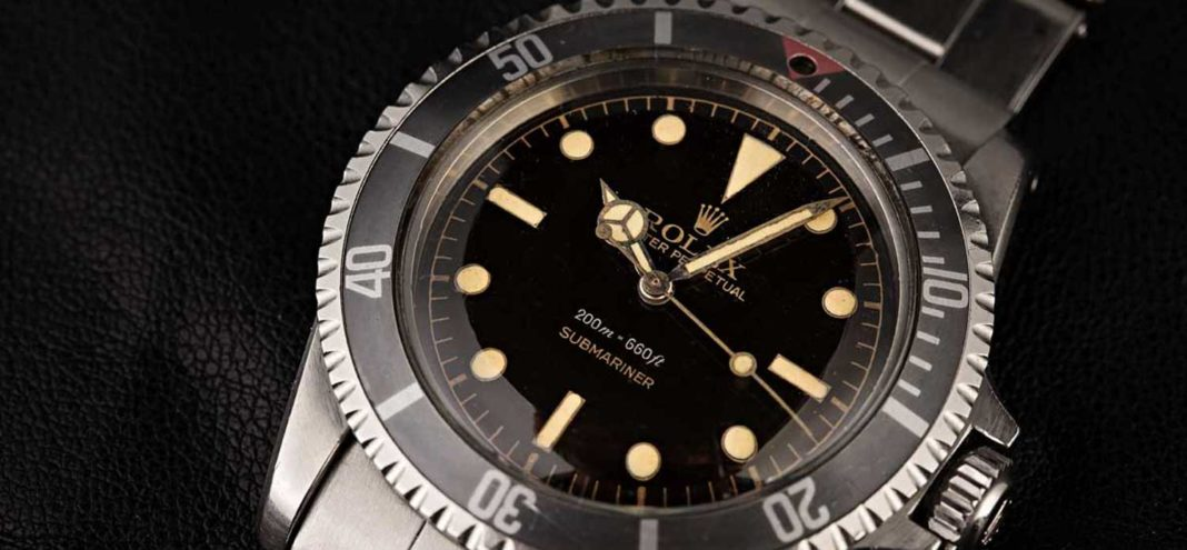 Rolex Square Crown Guard ref. 5512