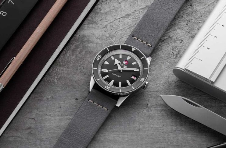 "Rado  x  The  Rake  &  Revolution Captain  Cook  ""Ghost  Captain"""