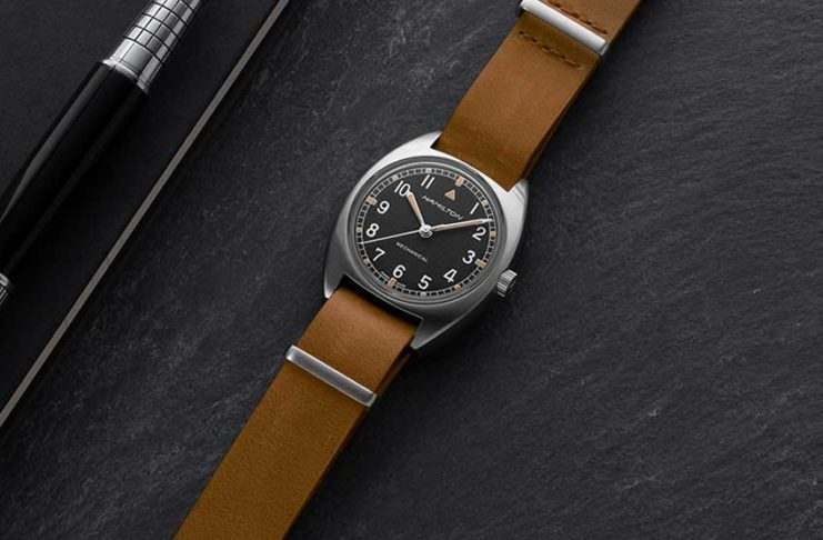 For a Limited Time Only: Hamilton Khaki Pilot Pioneer Mechanical on Shop.Revolution.Watch