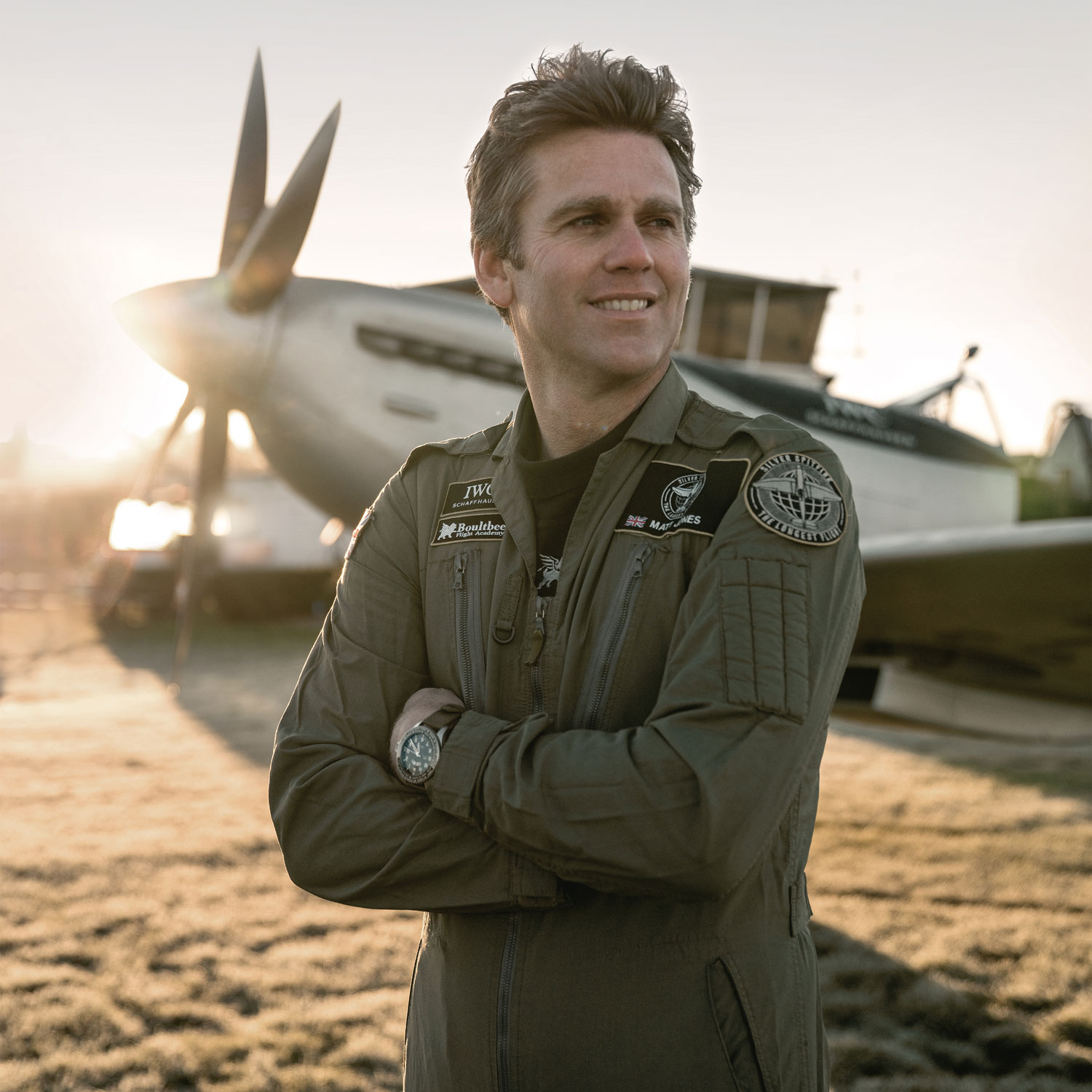 Matt Jones, pilot and co-founder of the Boultbee Flight Academy