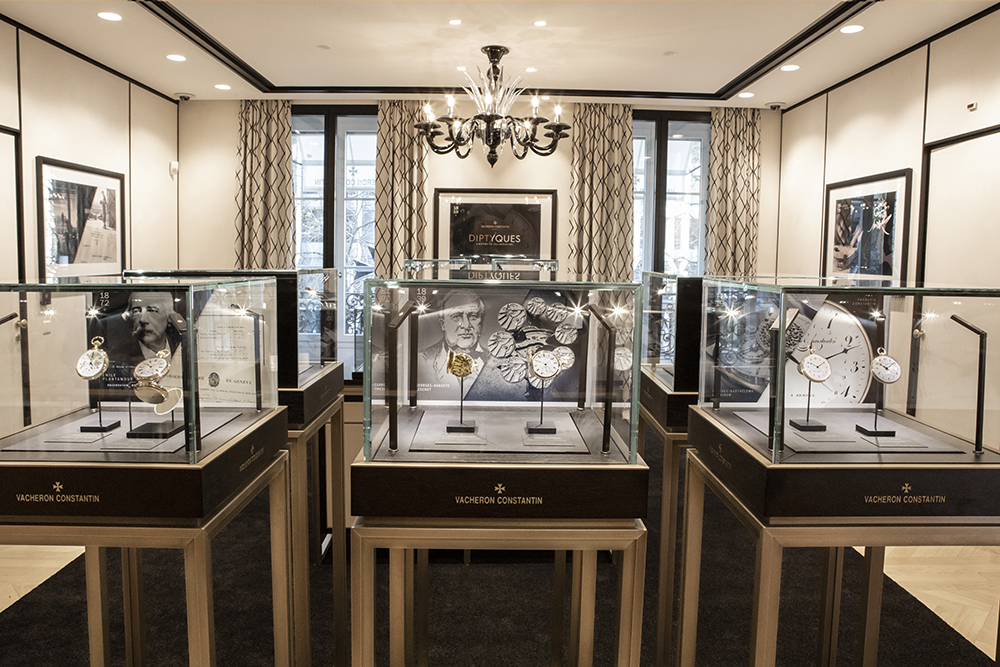 The Vacheron Constantin Diptyques: A History of Collaborations exhibition