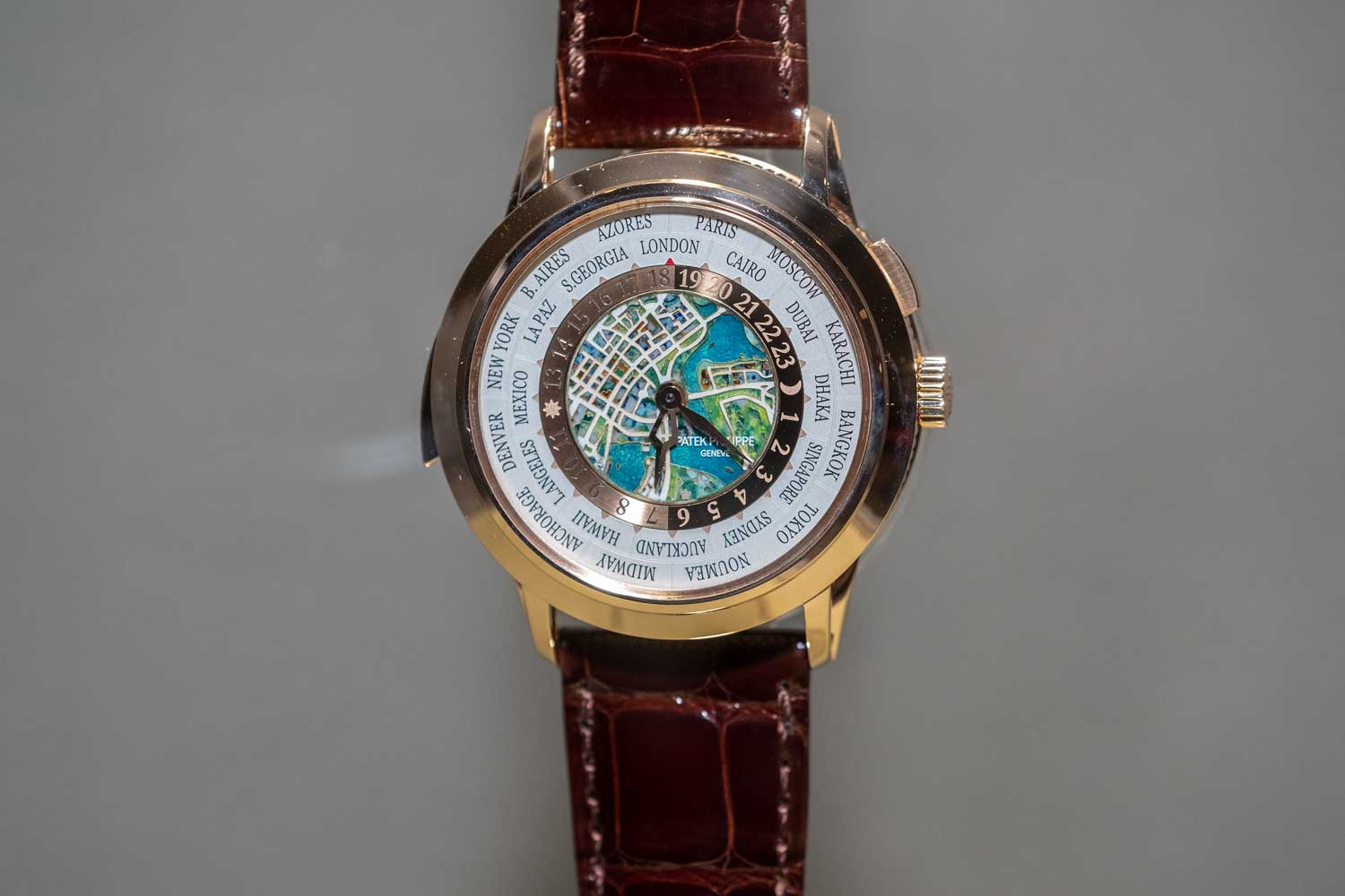 Patek Philippe World Time Minute Repeater Ref. 5531