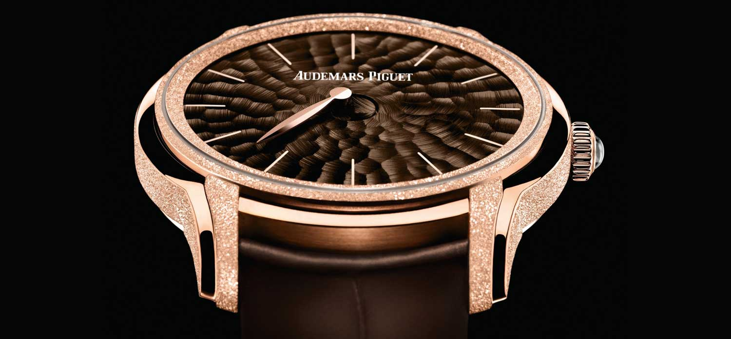Audemars Piguet Millenary Frosted Gold Philosophique
