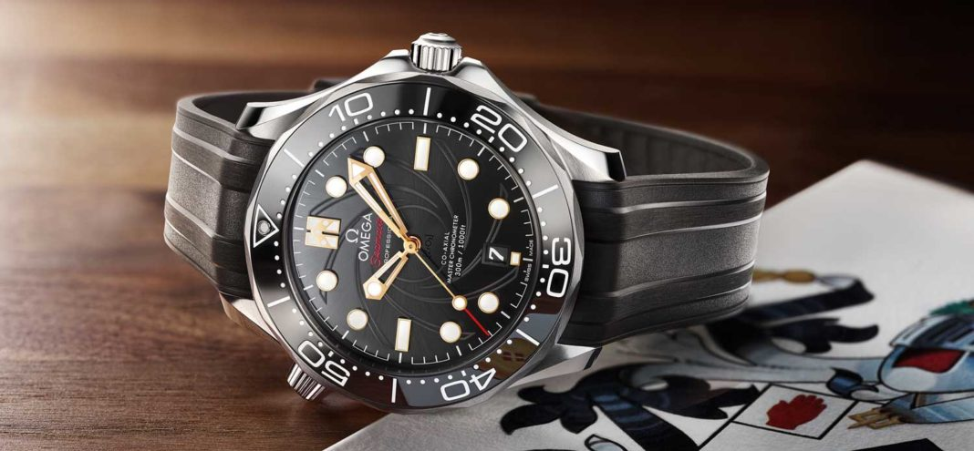 Omega the Seamaster Diver 300M Limited Edition for the 50th Anniversary of On Her Majesty's Secret Service