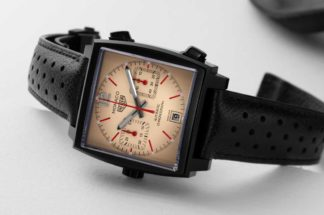 TAG Heuer Monaco Calibre 11 The Hour Glass Edition (Image © Revolution)