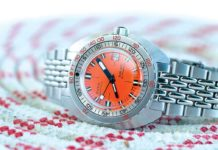 A near perfect reproduction of the 1967 DOXA SUB 300 (Photography: Gishani Ratnayake)