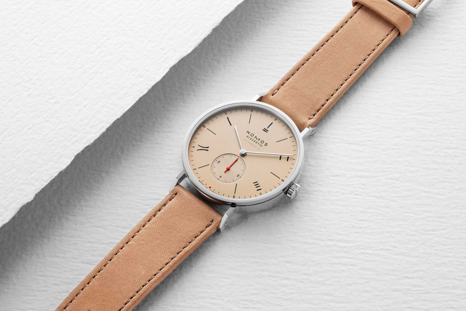 Nomos Red Dot (Salmon) 2019 for The Hour Glass' 40th Anniversary (Image © Revolution)