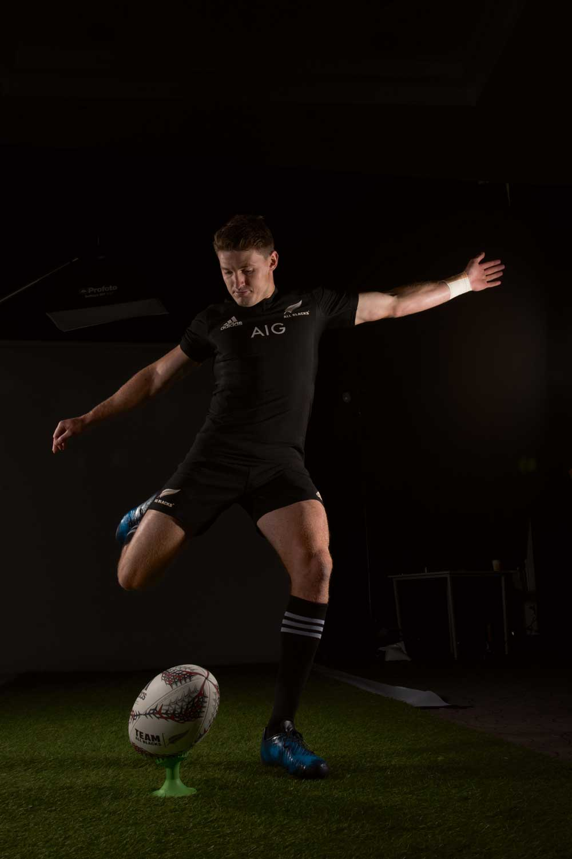 The calm boot of the All Blacks star Beauden Barrett