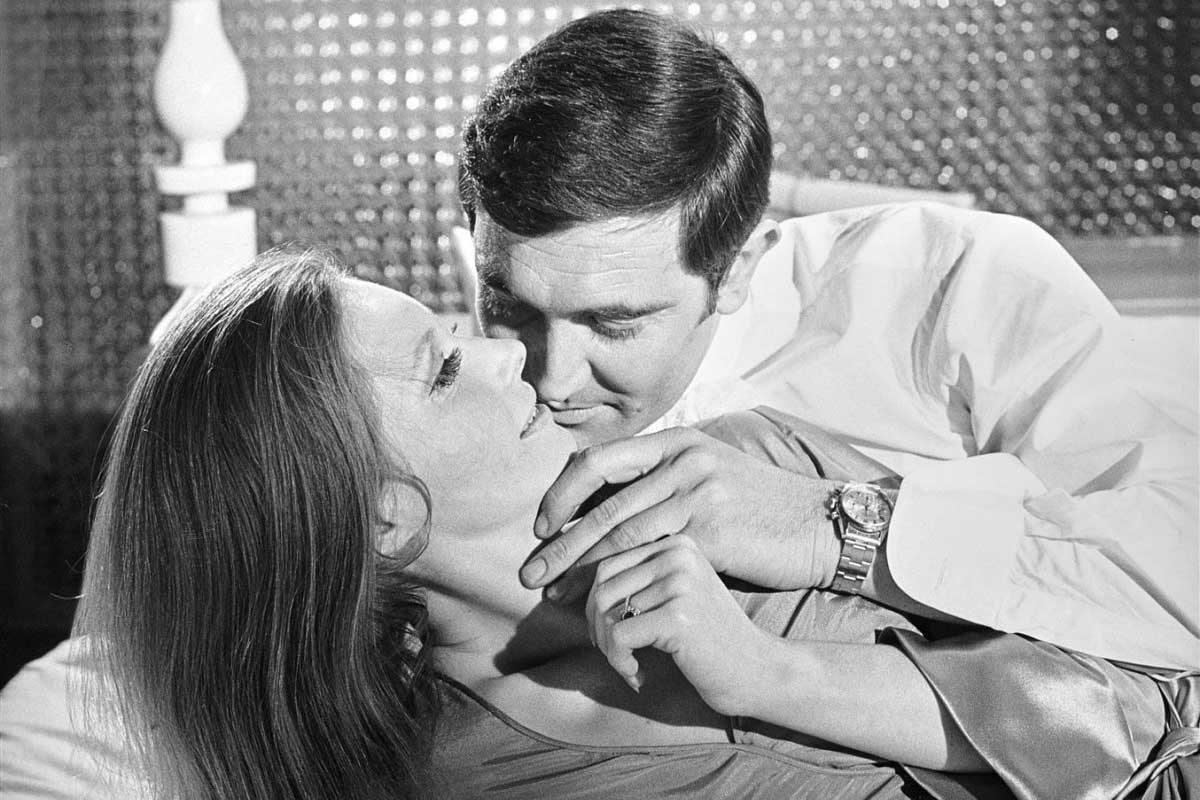 George Lazenby as James Bond in On Her Majesty's Secret Service with the ref. 6238 on his wrist (Image: Christie's)