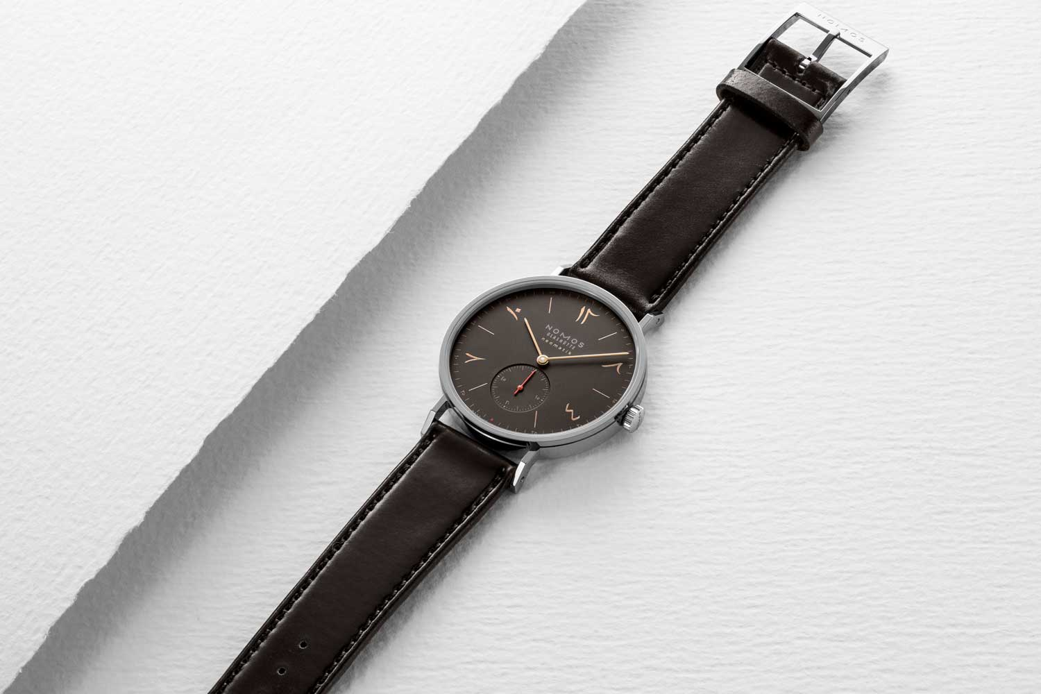 Nomos Red Dot (Ruthenium) 2019 for The Hour Glass' 40th Anniversary (Image © Revolution)