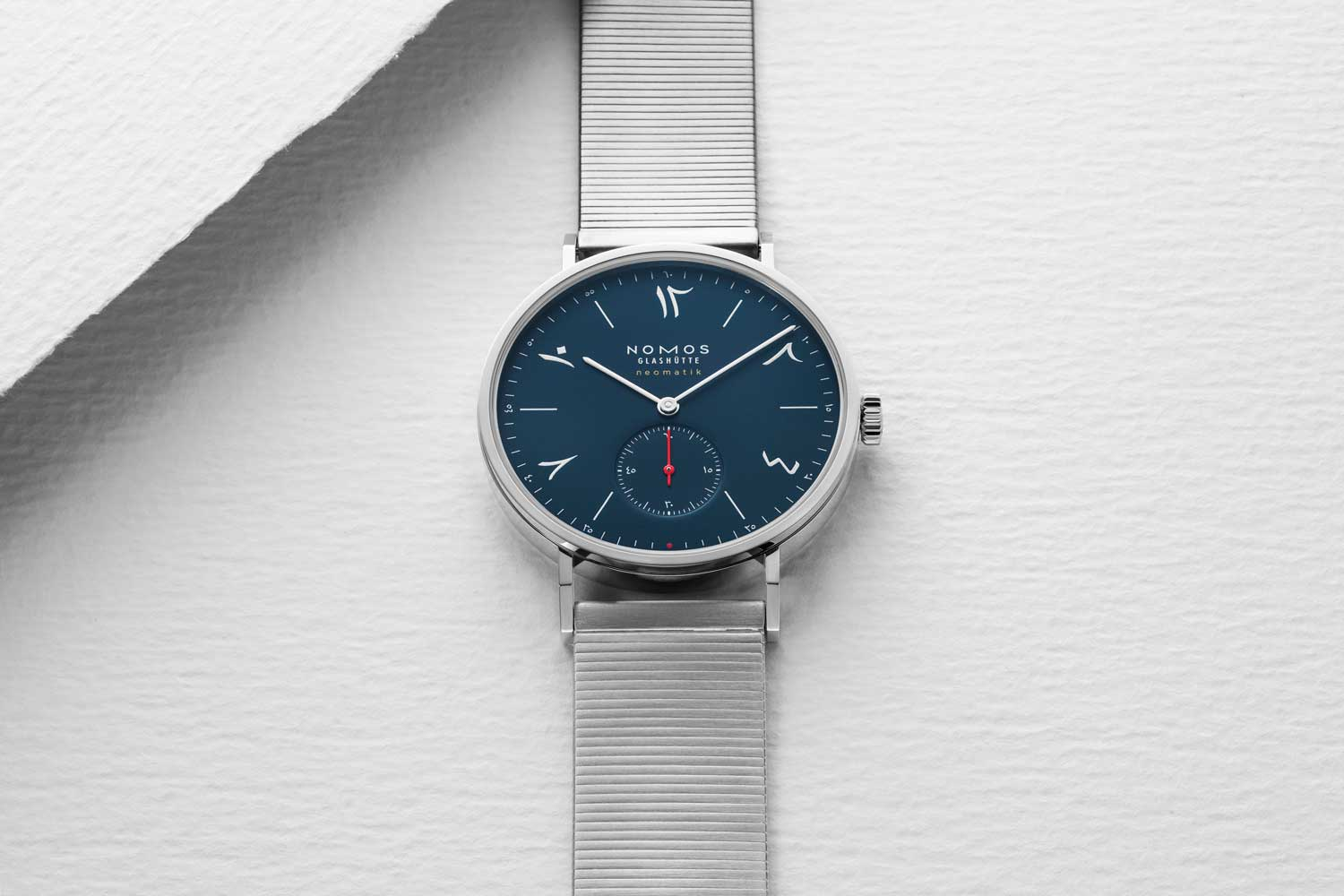 Nomos Red Dot (Midnight Blue) 2019 for The Hour Glass' 40th Anniversary (Image © Revolution)