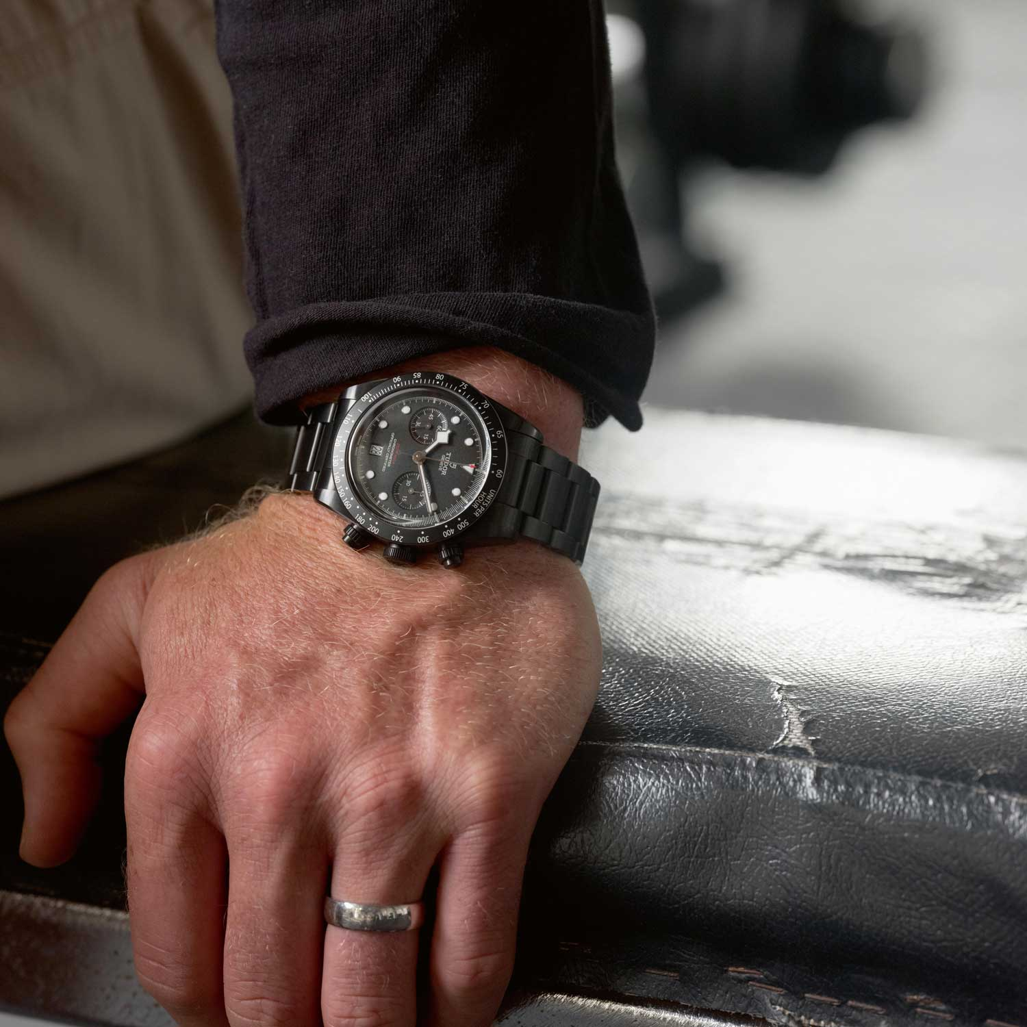 Beauden Barrett is helping launch the Black Bay Chrono Dark ahead of the World Cup in Japan